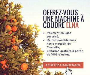 Achetez une machine à coudre Elna