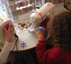 Cours initiation couture enfants